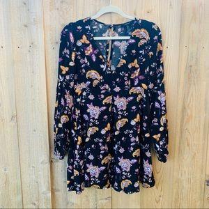 Forever 21 floral mini dress
